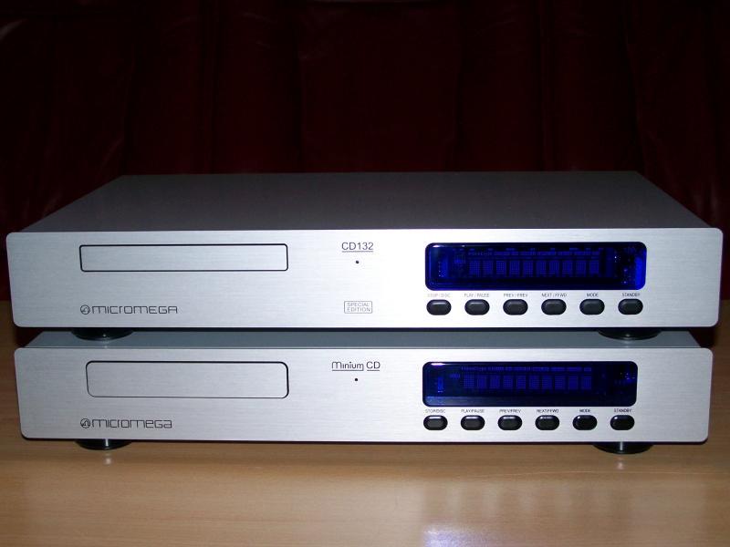 Micromega CD132SE et CD3